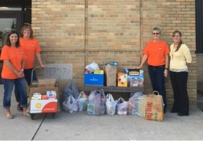 Mishicot Middle School Snack Pack Program receives donation