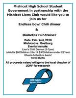Chili Dinner and Diabetes Fundraiser