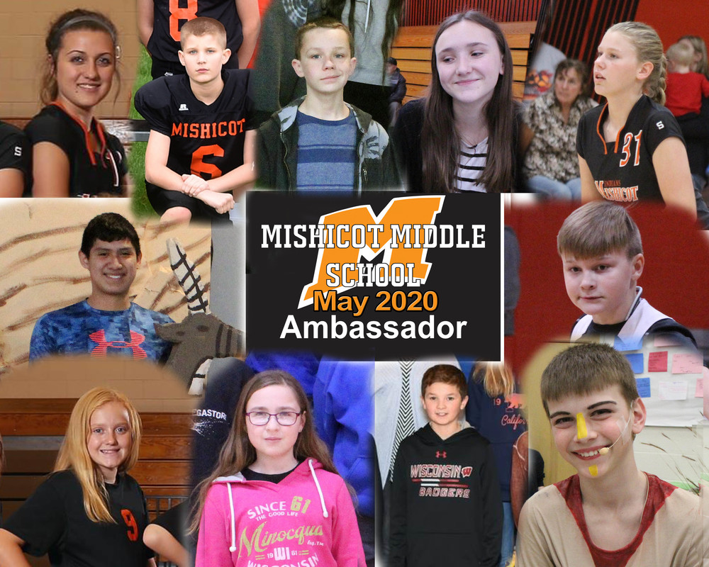 May Middle School Ambassadors