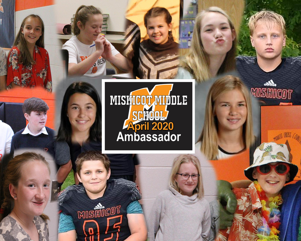 Middle School Ambassadors for April