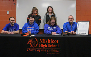 Student signs with Marian University