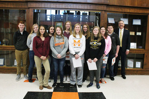 High School Students of the Month: September